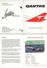 REGNO UNITO  FOLDER SCHEDA NUOVA BT PHONECARD 5 UNITS BOEING 747-438 1500 ISSUED