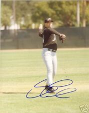 STEVE COOKE TAMPA BAY DEVIL RAYS SIGNED 8X10 PHOTO COA