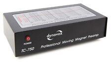 Dynavox tc-750 preamplificatore phono, mm-Sistema, Profi Phono-Preamplificatore Nero
