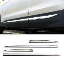 OEM Chrome Side Door Garnish Molding Trim 4P For HYUNDAI 2013-2018 Santa Fe DM