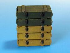 Ammo cases à 7,5 cm kwk40 / stuk40 (stug iii, STUG IV, PzKpfw IV) #E 03 1/35 EUREKA