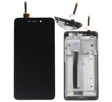 LCD Display + Touch Screen Digitizer + Frame For Xiaomi Redmi Hongmi 4A Black