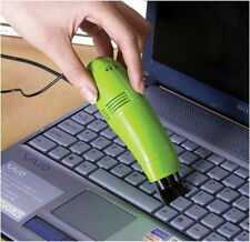 Keyboard Cleaner Mini USB Vaccum Dust Collector For Laptop PC (Random Color)