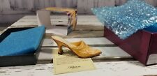 Just The Right Shoe Raine Drops Heel Elizabeth 25128 yellow evening bling