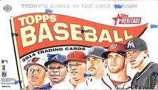 2014 Topps Heritage Baseball Sealed Hobby Box