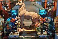 The Appaloosa Horse vtg McCoy Pottery pnw planter vase western cowboy art statue