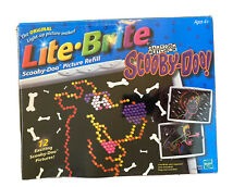 Scooby-Doo Lite Brite 12 Picture Refill Set Sealed