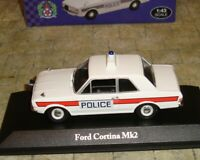 ATLAS EDITIONS - FORD CORTINA MKII POLICE CAR - HAMPSHIRE   - 1:43