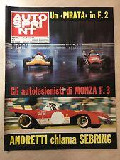 62159 Autosprint a. XII n. 11 1972 - Andretti chiama Sebring