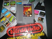 CASTLEQUEST  NEXOFT 1989 NES GOOD LABELS CLEAN PINS TESTED WORKS HQ LQQK!