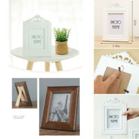 1PC Family Portrait Vintage Wooden Photo Frame Fit For 7 Inch Photo