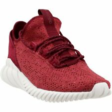 adidas Tubular Doom Sock PK Mens By3560 Mystery Red Primeknit Shoes Size 8
