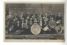 1910 Altamont, Kansas High School Band RPPC