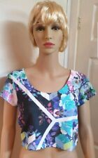 Jane Norman Top Textured Print SIZE 16 - RRP: £25