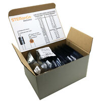Ceramic Monolithic Electrolytic Capacitor Assorted Kit 33 Values 645pcs LABELLED