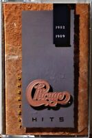 Cassette Chicago Greatest Hits 1982-1989 TESTED Stay the Night Love Me Tomorrow