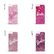 Printed Glitter Pattern Barbie c23 hard phone Case cover iPhone X Samsung S9/S9+