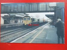 PHOTO  FREIGHTLINER CLASS 66 LOCO NO 66539 AT OXFORD 2004
