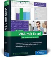 VBA mit Excel - Bernd Held - 9783836260534 DHL-Versand PORTOFREI