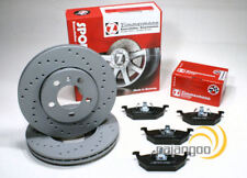OEM SPEC FRONT DISCS AND PADS 256mm FOR VOLKSWAGEN POLO 1.4 TD 1999-01