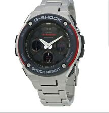 Casio G-Shock GSTS100D-1A4 Stainless Steel Solar Mens Watch Limited Edition NEW