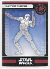2006 Star Wars Miniatures Kashyyyk Trooper Stat Card Only Swm Mini