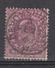 Great Britain nr 111 TOP CANCEL EDWARD VII 1902 VEILING oude postzegels ENGELAND