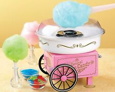 Cotton Candy Machine Maker Vintage Retro Carnival Kids Hard & Sugar Free Floss