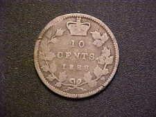 1888 Canada 10 Cents Silver KM# 3 - Nice Circ Collector Coin!-d5569xdx