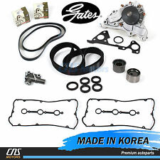 Fits Hyundai Kia 3.5L Timing Belt Kit Hydraulic Tensioner Water Pump Valve Cover