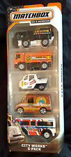 MATCHBOX GARBAGE RECYCLING TRUCK STREET SWEEPER METER MAID MAIL DELIVERY BUS