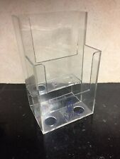 Lladro Store Display Literature Stand (?) Advertising Clear Acrylic