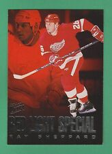 1995-96 Fleer Ultra Red Light Special Ray Sheppard Detroit Red Wings #9