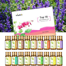 18 Set 100% Pure Natural Essential Oil Kit Aromatherapy Therapeutic Grade Lot UK