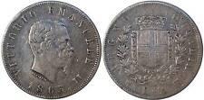 pci0168) Regno Vittorio Emanuele II lire 2 Stemma NA 1863