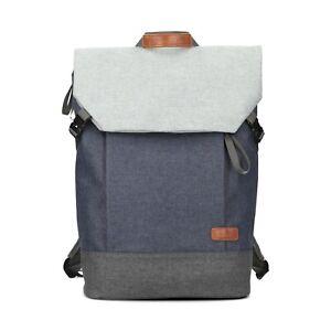 ZWEI BENNO 350 BE350 blue blau Neu Laptop Rucksack Daypack Backpack 15 / 19l.
