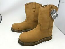 Mens Muck Boot (LTC-905W) Wellie Classic Comp Toe Wheat Wides Boots size 8 (R2)