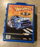 Hot Wheels 48 Car Carry Case Vintage Rare + 13 Cars Pictured Collectible Lot