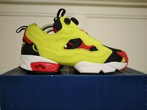 Reebok Instapump Insta Pump Fury Og Citron Uk 7 Us 8