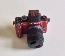 Red & Black PANASONIC LUMIX DMC-G2 Camera.