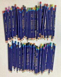 Lot of 86 Derwent Inktense Drawing Art Colored Pencils