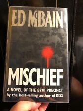 Mischief Ed McBain Novel 87th Precinct SIGNED HC/DJ First edition First Printing