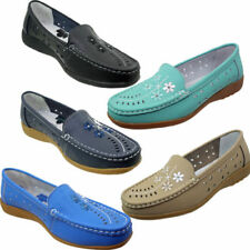 Loafers Floral Flats for Women