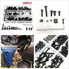 10 piece kit Bike-it Moto Libération Rapide Rivet carénage fixations 14mm