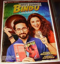 MERI PYAARI BINDU (2017) BOLLYWOOD POSTER # 2 PARINEETI CHOPRA AYUSHMANN