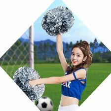 6Pcs Cheerleading Pompoms Cheer Dance Handheld PomPoms Party Decor 8 Colors