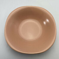 Vintage Pink Ranmaru Japan Stoneware Peach 7 1/2 Inch Salad Soup  Cereal Bowl