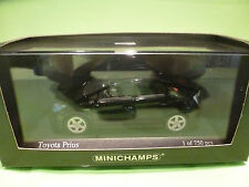 MINICHAMPS 1:43  TOYOTA PRIUS 2009 BLACK - limited edition 1 of 750 pcs - MIB