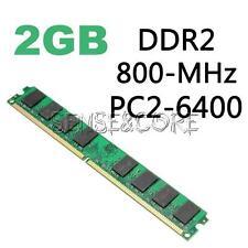 Neu 2GB DDR2 800MHz PC2-6400 240pin für AMD Motherboard Desktop- Speicher
