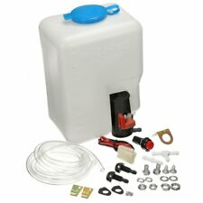 Car Windshield Washer Reservoir Pump Bottle Kit Jet Switch Clean Tool